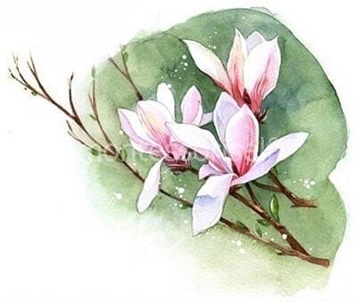 """Рисунок """"цветы"""" на День Матери"""
