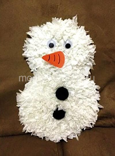 zb1-2 Поделка снеговик своими руками