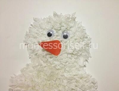 zb4-2 Поделка снеговик своими руками