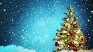 Новогодняя елка картинка для детей 14