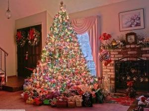 Новогодняя елка картинка для детей 13