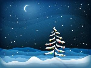 Новогодняя елка картинка для детей 10