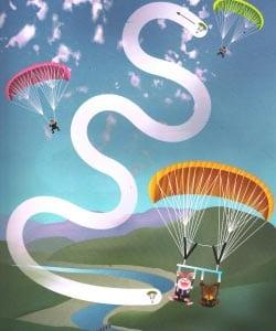 Лабиринт парашютисты
