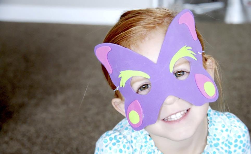 Детская маска своими руками картинки