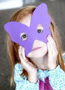 Карнавальная маска своими руками для детей 2