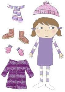 Картинка одежда для девочки
