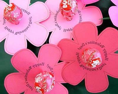Сладкая поделка на день святого Валентина