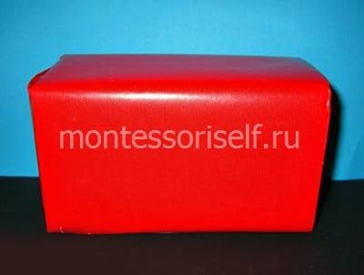 Оборачиваем или окрашиваем коробку