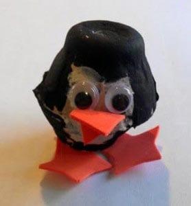 Пингвин из ячейки