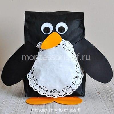 Пингвин из пакета