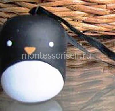 Пингвин из киндер-сюрприза