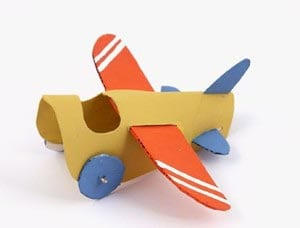 Funny do-it-yourself plane on February 23 7