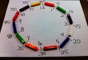 Циферблат из Лего 1