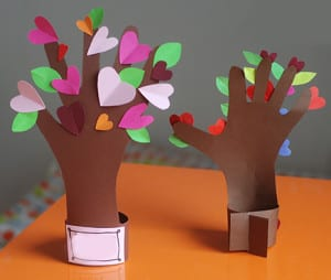 Поделка весеннее дерево 2
