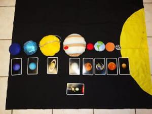 Планеты и карточки 3
