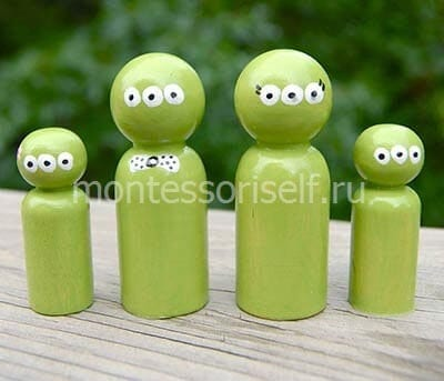 Alien figures