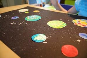 Рисунок на день Космонавтики