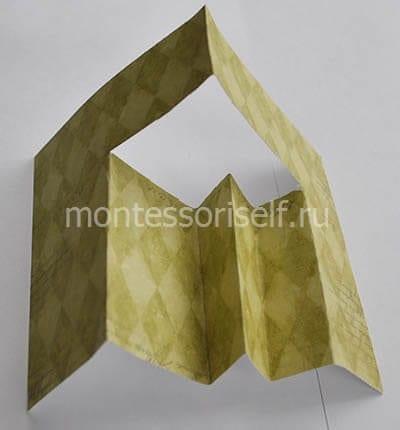 Бумажная конструкция