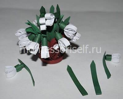 Расставляем цветы