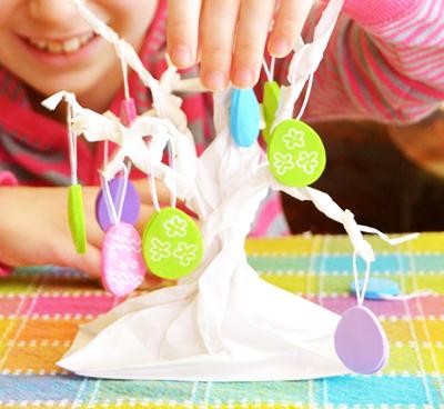 Пасхальное дерево из бумаги
