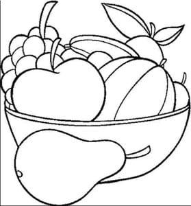 Ra coloring fruit 4