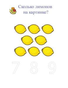 Сколько лимонов на картинке