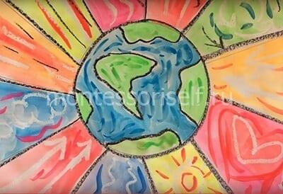 Картина на День Земли