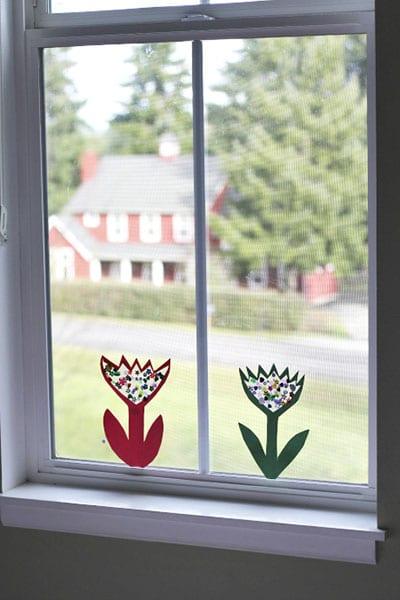 Украшение на окно