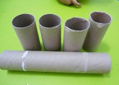 Картонные трубочки