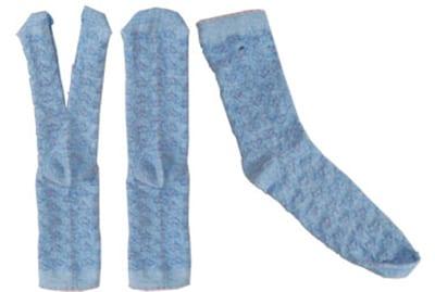 Разрезаем носочек