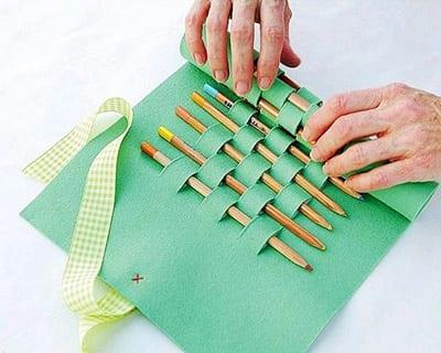 p42 Как сделать пенал своими руками?