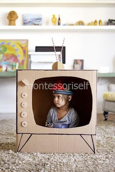 Телевизор из коробки