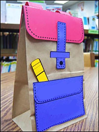 Рюкзак из пакета