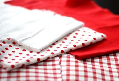Ткань для платья куколки