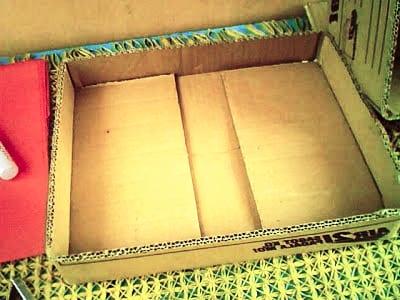 Дно коробки