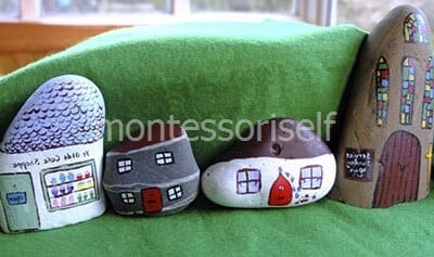 Домики из камней