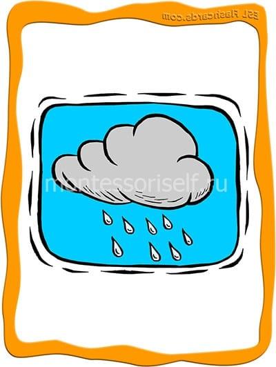 Тучи с дождем