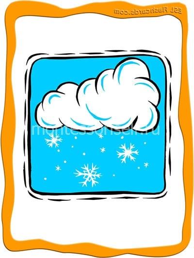 Тучи со снегом