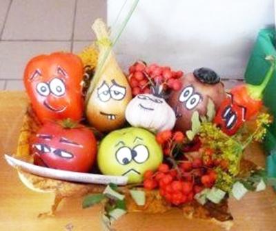 Овощи с различным характером