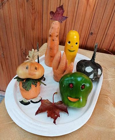 Корзинка с овощами