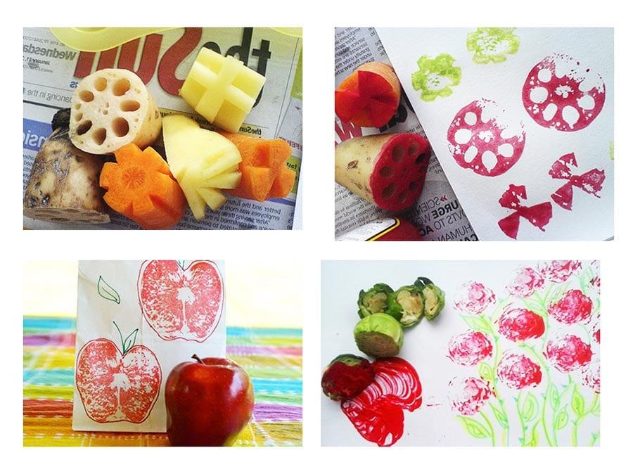 Штампики из овощей