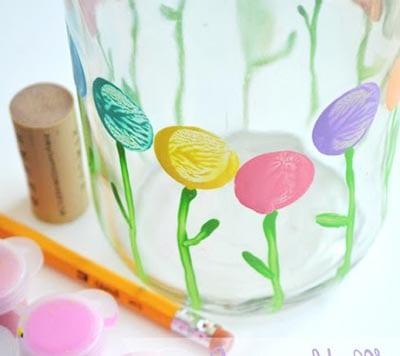 Рисуем стебель и листочки