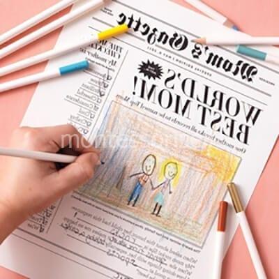 Поздравление на газете