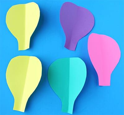 pts15 Простые поделки из бумаги своими руками для детей от 7 лет. Мастер-класс с пошаговыми фото