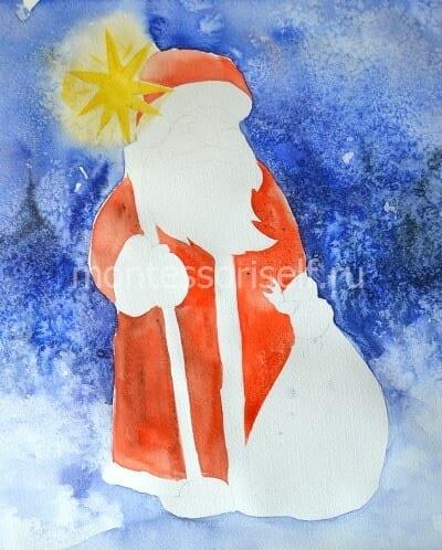Тулуп и шапка Деда Мороза