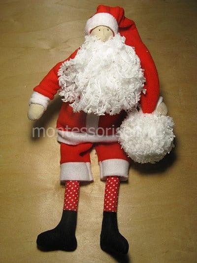 Дед Мороз в стиле тильда