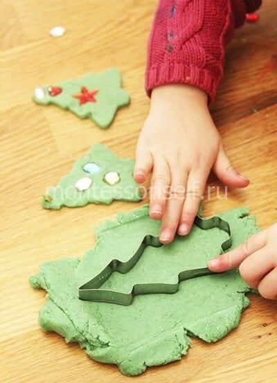 dn28-2 Аппликация из фетра своими руками для детского сада: Ёлочка