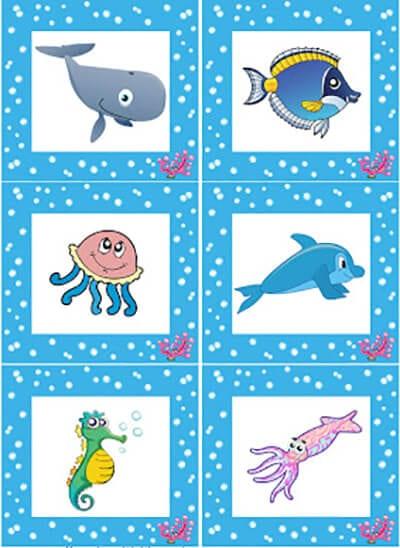 Обитатели моря нарисованные 1