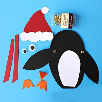 Материалы для поделки пингвин