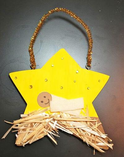 поделка Вифлеемская звезда
